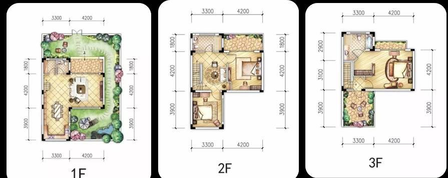 三房三厅三卫